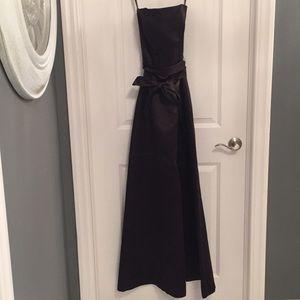 Alfred Sung Women's Strapless Formal Dress